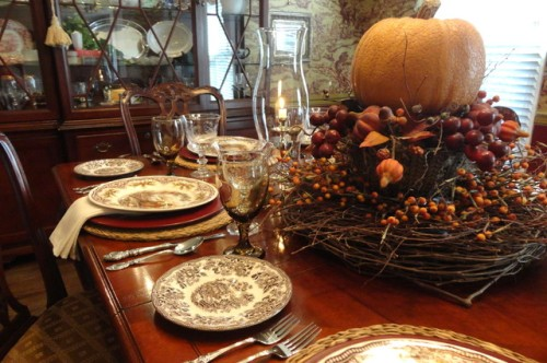 Preparing your Dining Room for Thanksgiving